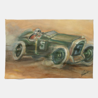 French Grand Prix Racecar by Ethan Harper Towel