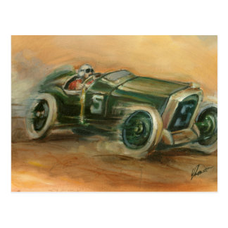 French Grand Prix Racecar by Ethan Harper Post Cards