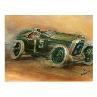 French Grand Prix Racecar by Ethan Harper Postcard