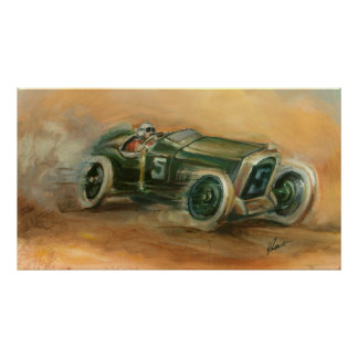 French Grand Prix Racecar by Ethan Harper Poster
