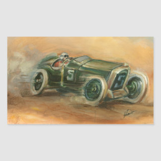 French Grand Prix Racecar by Ethan Harper Stickers