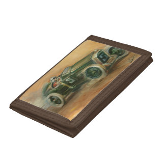 French Grand Prix Racecar by Ethan Harper Trifold Wallet
