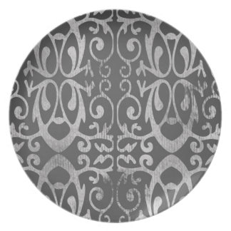 French Gray Plate