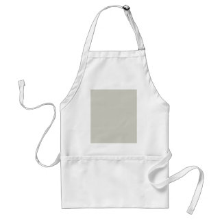 French Grey 1a Cream Custom Products Color Only Adult Apron