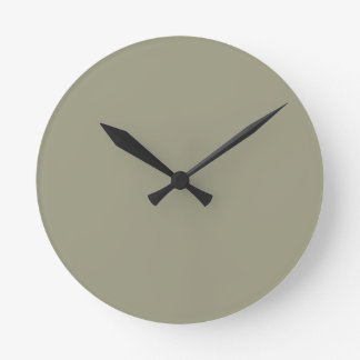 French Grey 5a Color Only Custom Design Wall Clocks