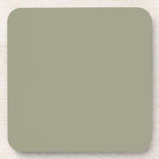 French Grey 5a Color Only Custom Design Beverage Coaster