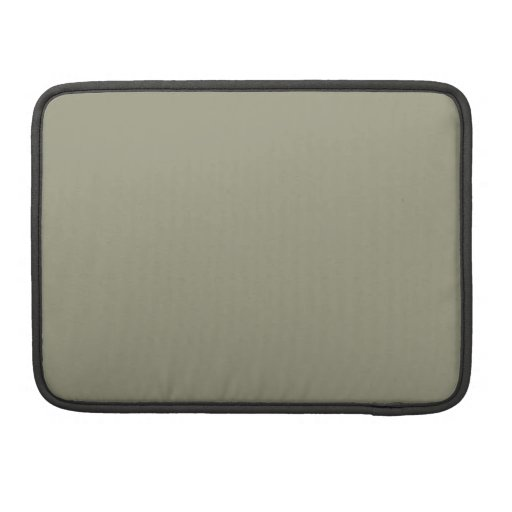 French Grey 5a Color Only Custom Design MacBook Pro Sleeve