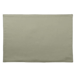French Grey 5a Color Only Custom Design Placemat