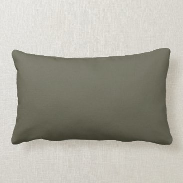 Professional Business French Grey 8a Color Only Custom Design Lumbar Pillow