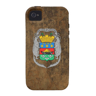 French Guiana Coat of Arms Vibe iPhone 4 Cover