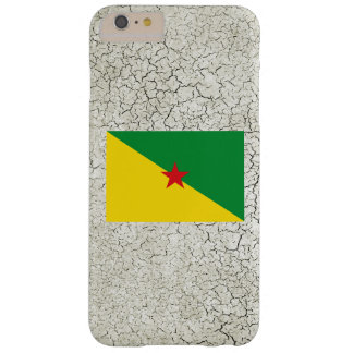 French Guiana Flag Barely There iPhone 6 Plus Case