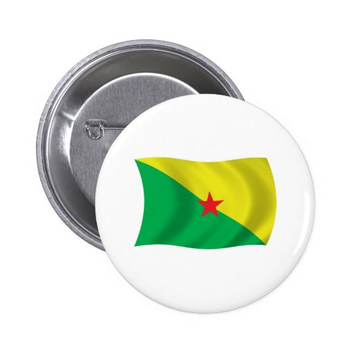 French Guiana Flag Button