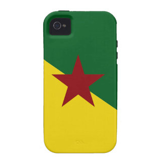 French Guiana Flag Case-Mate iPhone 4 Case