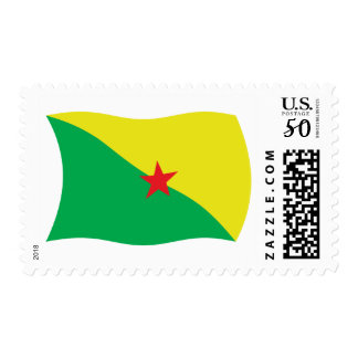 French Guiana Flag Stamps