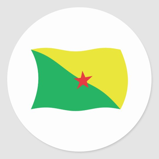 French Guiana Flag Sticker