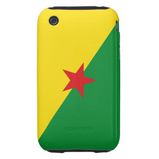 french guiana iPhone 3 tough cover