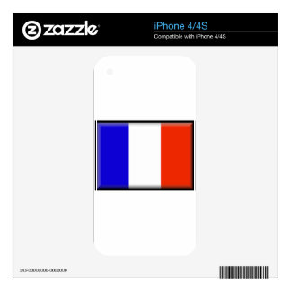 French Guiana Decals For iPhone 4