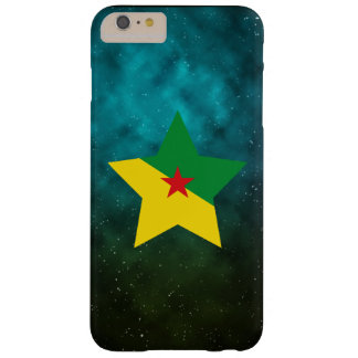 French Guiana Star Design Flag Barely There iPhone 6 Plus Case