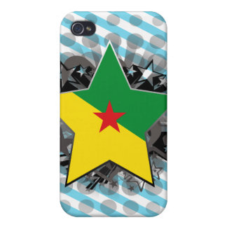 French Guiana Star iPhone 4/4S Covers