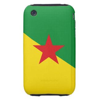 french guiana tough iPhone 3 case