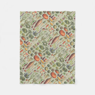 French Guide To The Garden Fleece Blanket