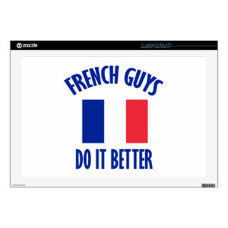 """FRENCH GUYS DESIGNS 17"""" LAPTOP DECALS"""