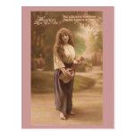 French Gypsy Postcard