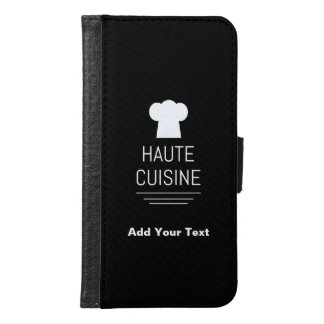 French Haute Cuisine Gourmet Kitchen Samsung Galaxy S6 Wallet Case