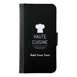 French Haute Cuisine Gourmet Kitchen Samsung Galaxy S6 Wallet Case