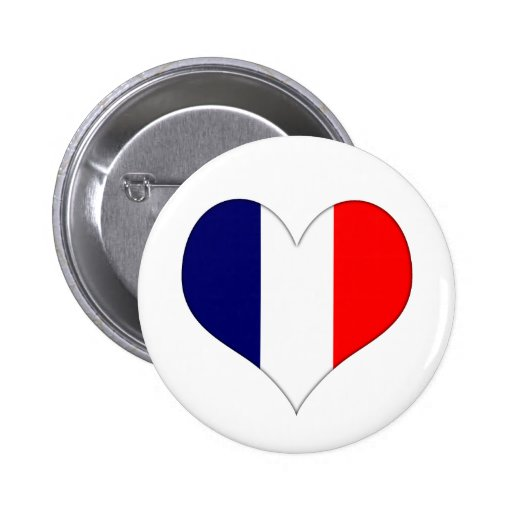 French Heart Buttons
