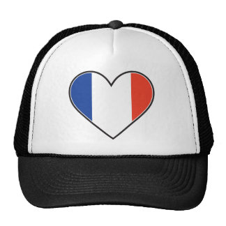 French Heart Flag Hat
