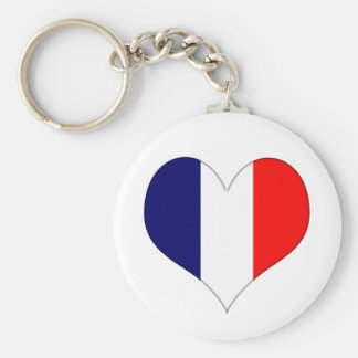 French Heart Keychain