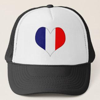 French Heart Trucker Hat