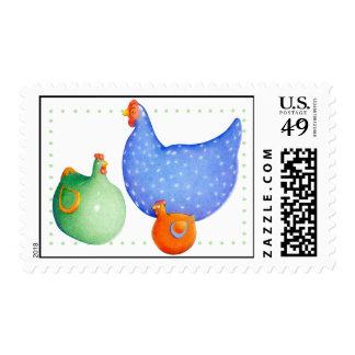 French Hen Postage