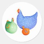 French Hens Sticker