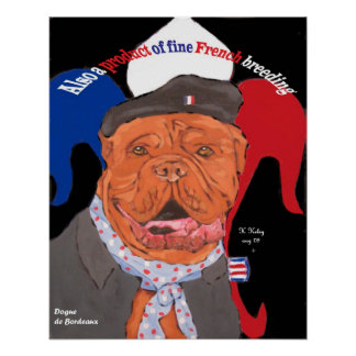 French Heritage Dog poster