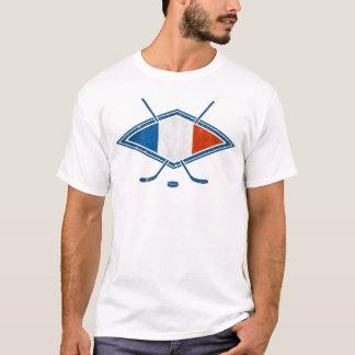 French Hockey Flag Logo Men's T-Shirt