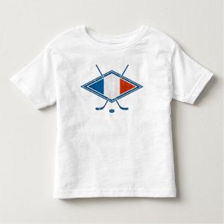 French Hockey Flag Logo Toddler T-shirt