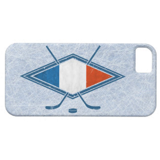 French Hockey Flag Phone Cover