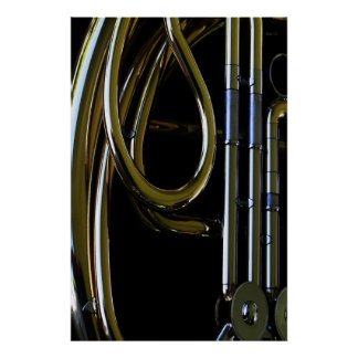 French Horn #3 Print