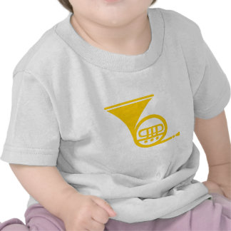 French Horn - Amber Tee Shirts