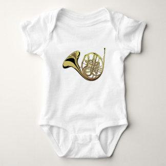 French Horn Baby Bodysuit