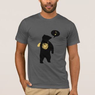 French Horn Bear T-shirt