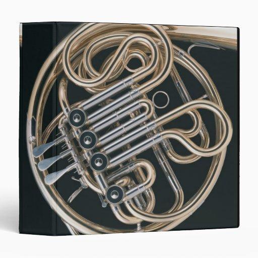 French Horn Vinyl Binders