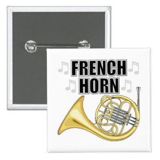 French Horn Button