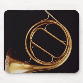 French Horn, by Marcel Auguste Raoux Mouse Pad
