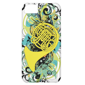 French Horn iPhone 5C Cases