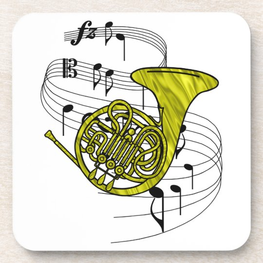 French Horn Coaster