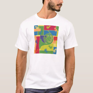 French Horn Colorblocks T-Shirt