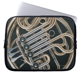 French Horn Computer Sleeve